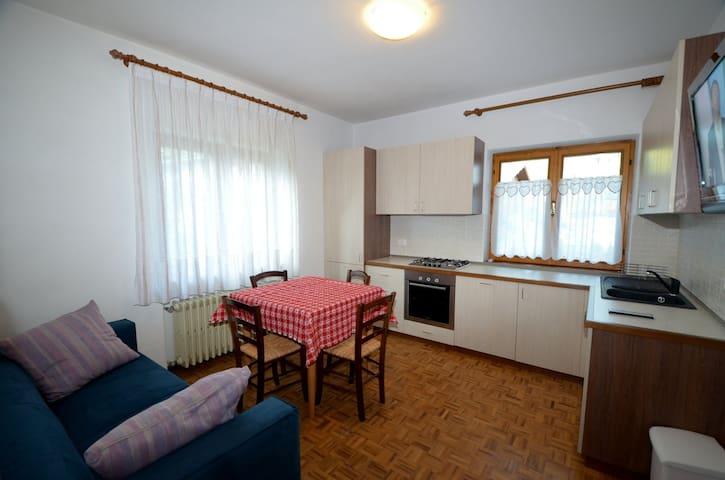 Appartamento con giardino vicino al lago - Auronzo di Cadore - Appartement