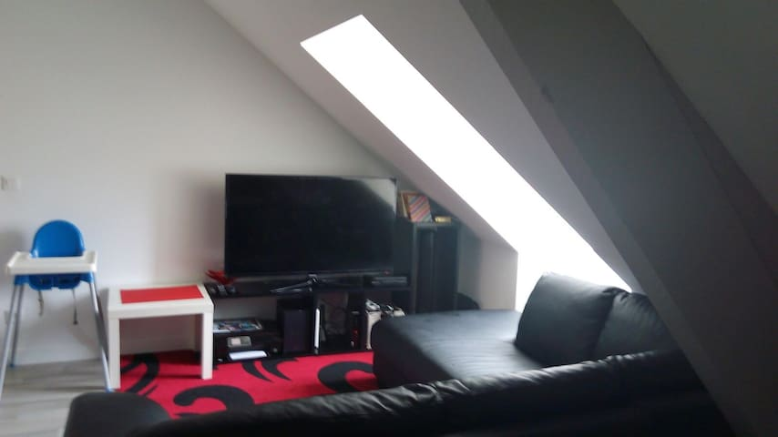 Cosy room in Meaux City Center next to Cathedral - Meaux - Appartement