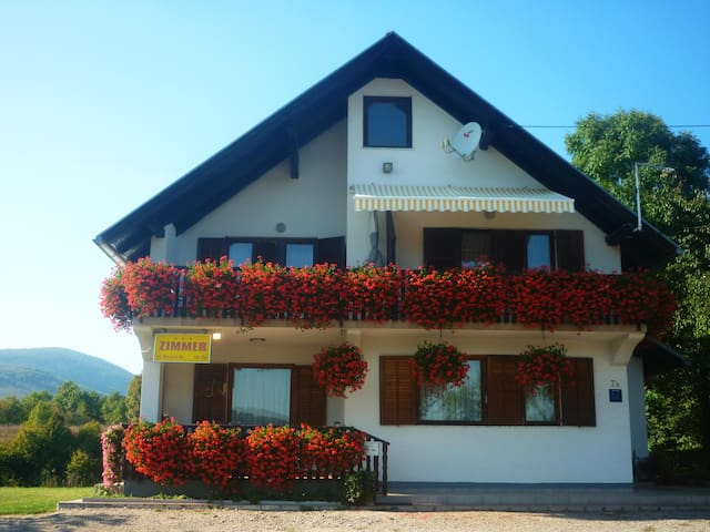 House Anamarija Room with balcony 2 - Selište Drežničko