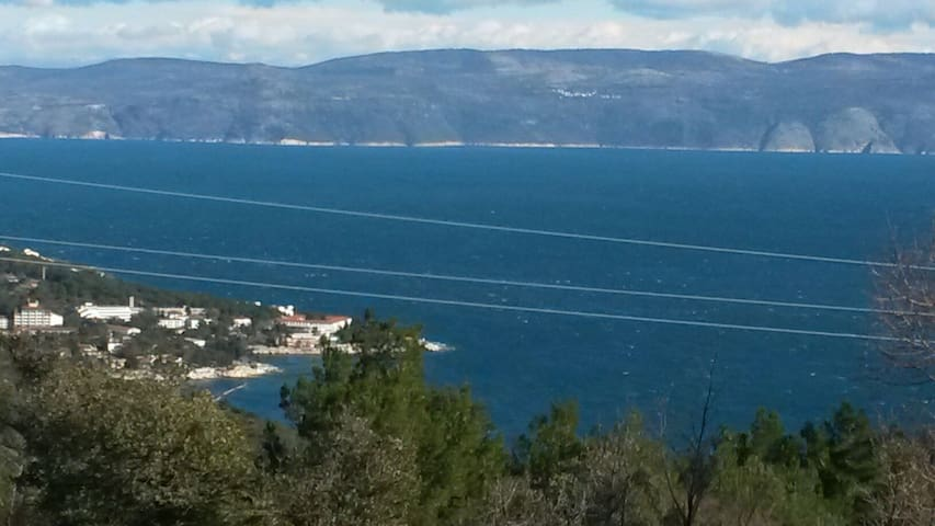 Apartment Rosemary Overlooking the Kvarner - Labin
