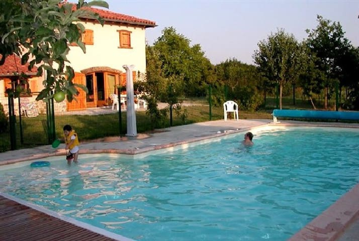 Charming House with Pool and Garden - Bellegarde-en-Forez