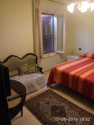 Agriturismo in collinaCamera quadrupla con tinello - Montiano - Appartement