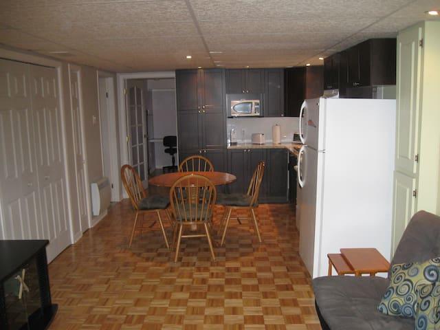 Appartement tout équipé à proximité de Montréal - Charlemagne - Apartamento