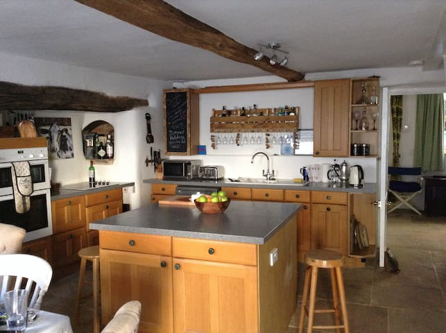 2 private rooms in Dartmoor Cottage - Crockernwell - Hus