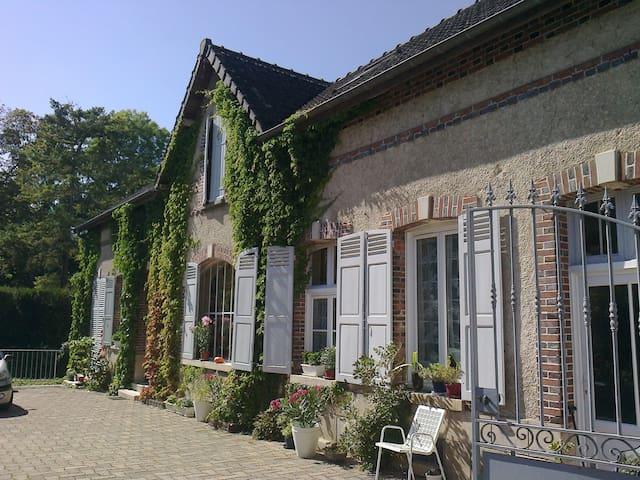 Toile de Jouy bedroom - Nogent-sur-Seine - 獨棟