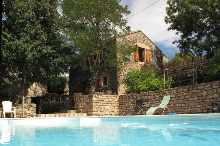 Converted Barn with pool and view - Penne - Ev