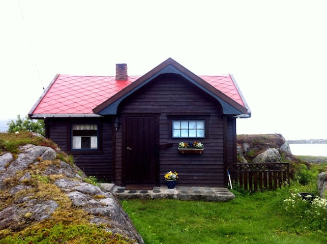Cabin in the middle of Lofoten - Gimsøysand - Cabin