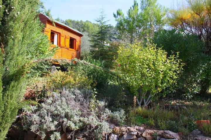 Roulotte dans un grand jardin calme, - Carnoules - Jordhus