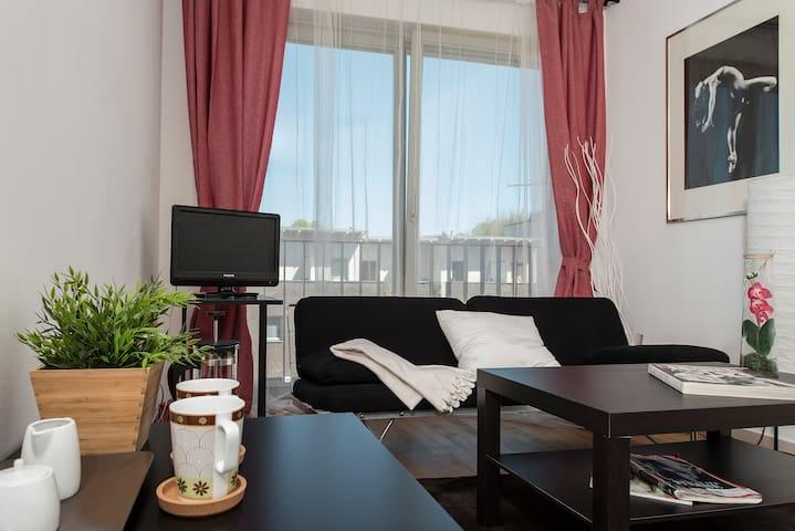 Nice modern bright room in Potsdam Babelsberg - Potsdam - Departamento