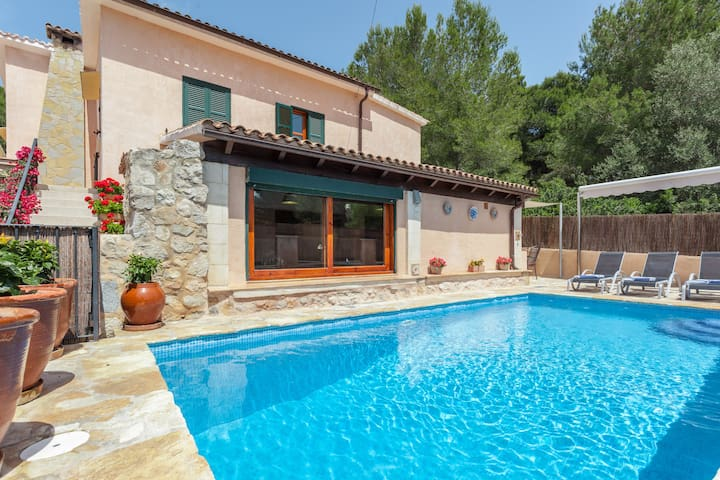Villa with pool 2' from the beach - Mal Pas-Bon Aire - Huis