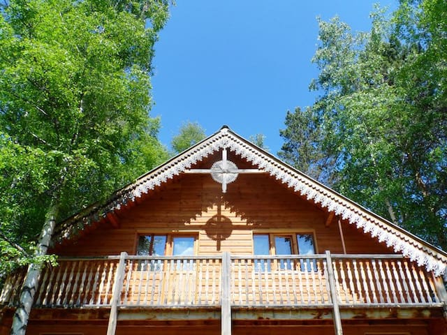 Baikal guesthouse Fedorov Dvor - Baykalsk - Hus
