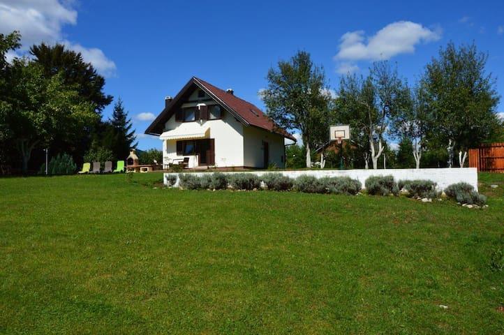 HOLIDAY HOUSE NOVOSEL - Plitvica Selo - Casa