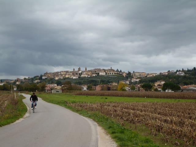 Tuscan Hill Town Apartment - Monte San Savino - Apartemen