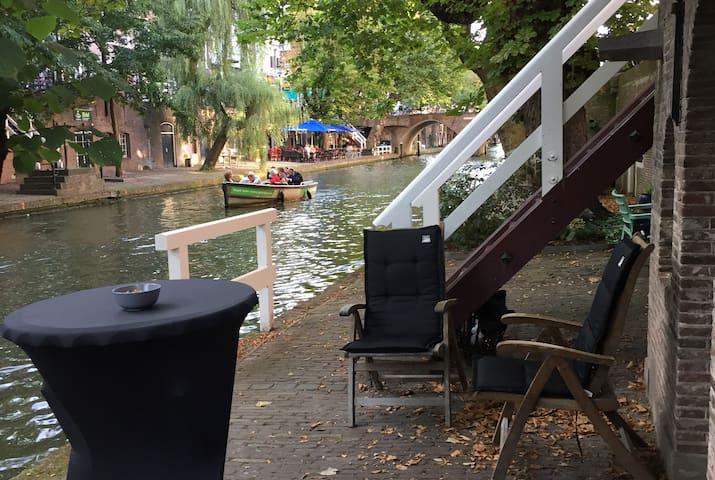 Lovely Canal House in centre Utrecht - Utrecht - Apartamento
