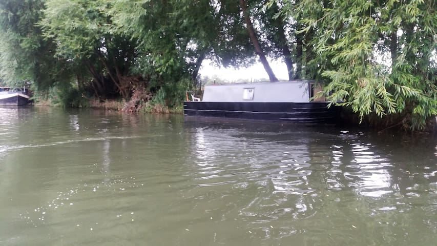 30ft  Narrowboat warm relaxing space - Wallingford  - Barco