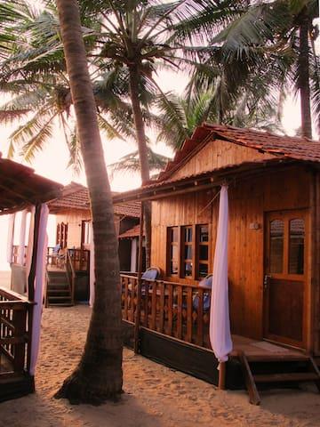 Comfort Beachhuts Balcony & part. Seaview, Agonda - Agonda - Skjul
