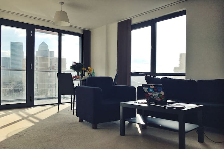 Spacious bright room on 6th floor - London - Apartmen