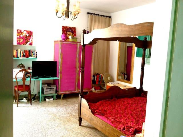 Nice Studio, garden 350 mtrs to sea - Santa Eulalia del Rio - House