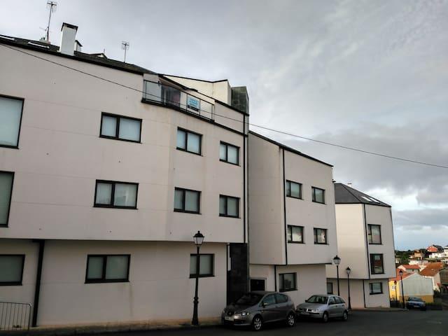 Acogedor hogar en un pueblo marinero - O Porto de Corme - Daire