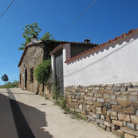 Casa de piedra y roble  - La Cuesta - Huis