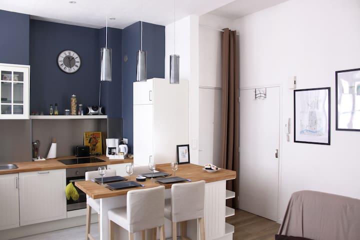 Charming and convenient flat - Nantes - Daire