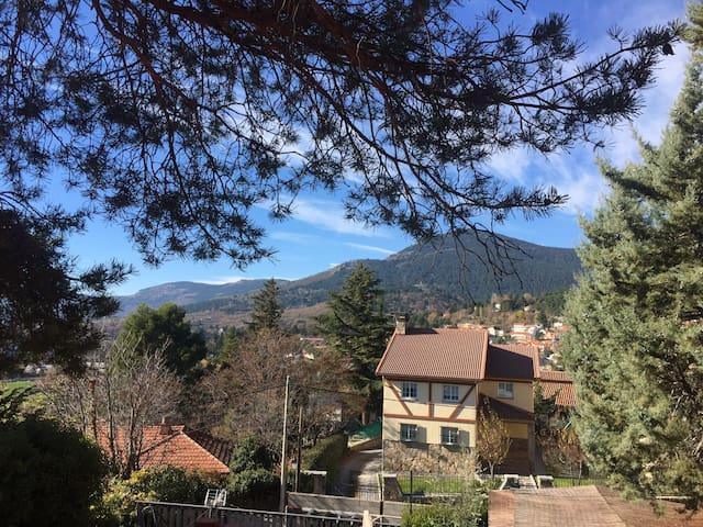 BALCONY TO MOUNTAINS, AC, 3 ROOMS - Cercedilla