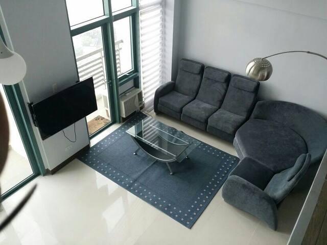cozy, elegant loft, spacious, comfy - Quezon City - Loft