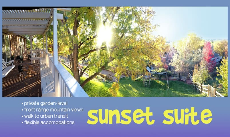 SUNSETSUITE •1100sf•sleep5+•theVIEW - Littleton - Huis