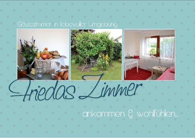 Friedas Zimmer, ankommen und wohlfühlen... - Pfalzgrafenweiler - Bed & Breakfast