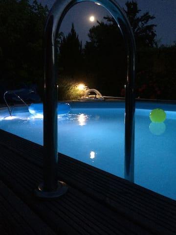 Belle Maison pierre avec piscine - Dieulivol - Huis