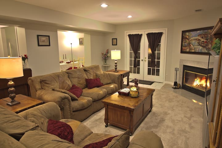 Lovely & Spacious Basement Apartment near Quantico - Stafford - Appartement