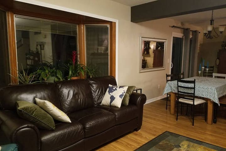 Comfortable Couch/Air mattress - Coralville - Ev