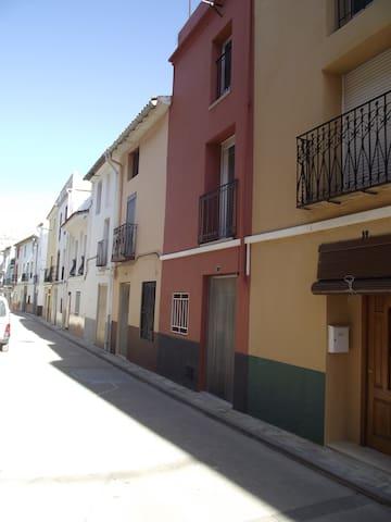 Casa de pueblo en montaña alicantin - La Vall d'Ebo - Hus