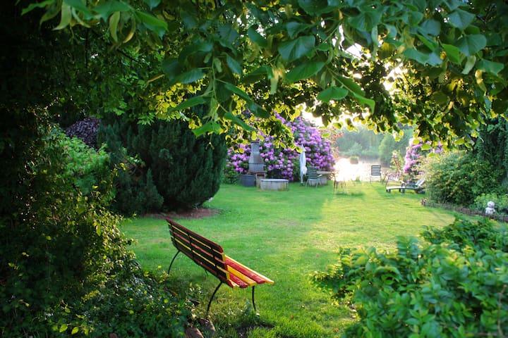 Wohnung mit Gartennutzung in ruhiger Lage. - Sprakensehl