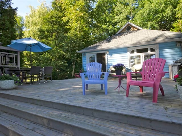 Cozy Beachfront Cottage - Tiny - Hytte