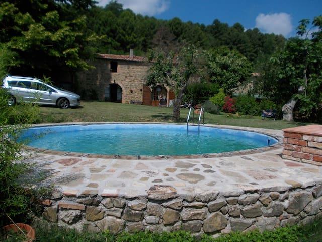 casa julia con giardino e piscina  - Rivalto