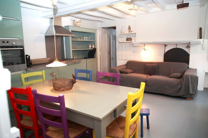 house in Creuse ,  cool , vintage and modern ! - Cheniers - 獨棟