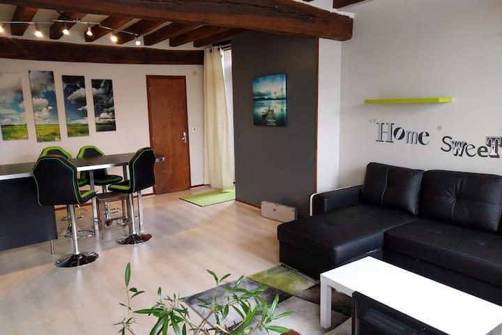 Appartement de 60m2  dans maison de caractère - Courson-les-Carrières - Appartement