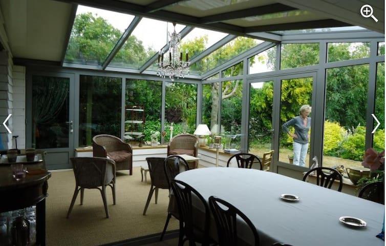 Chambres d hôtes Le Petit Ardrier - Martigné-sur-Mayenne - Pension