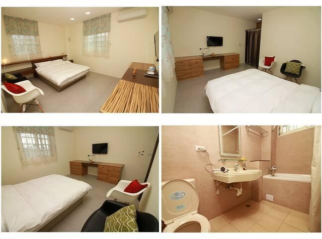 193樂奇民宿-2樓202雙人套房 - Guangfu Township
