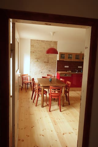 Altes Bauernhaus im Naturschutzgebiet - Märkische Höhe - Hus