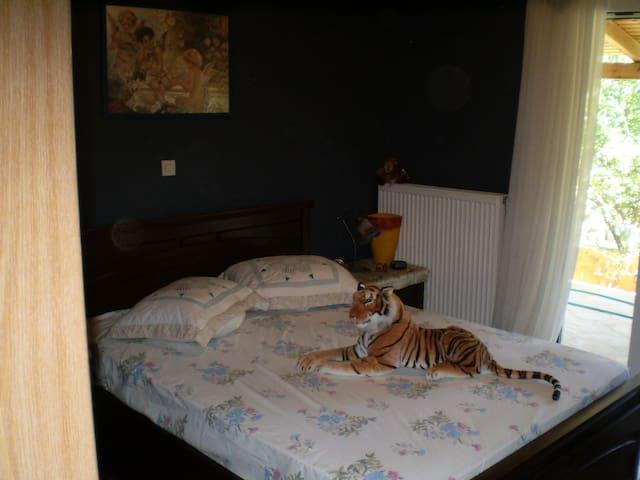 Cosy bedroom near the airport :) - Artemida - Дом
