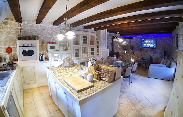 Villa Solar - Mediterranean Stone House NEW - Baćina - Maison
