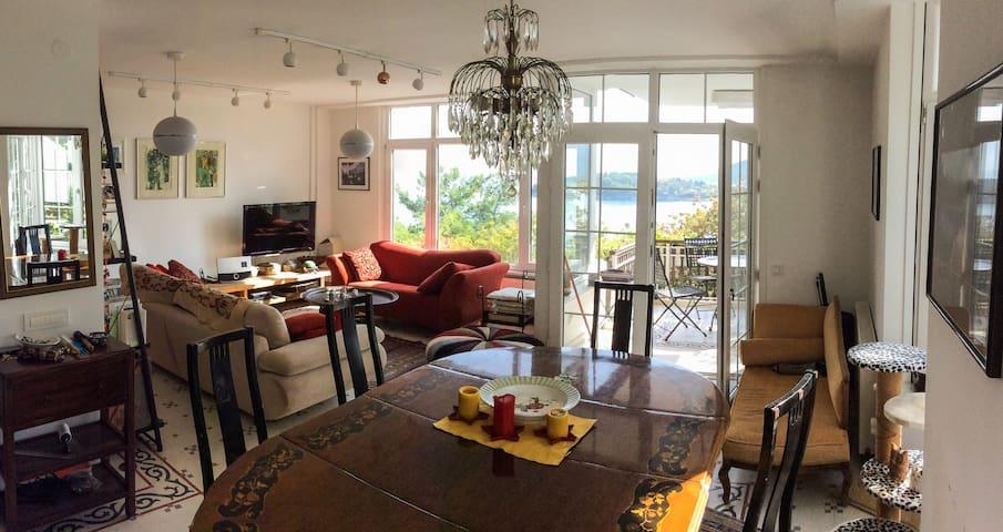Flat in Burgazada, Princes' Islands of Istanbul - Adalar - アパート