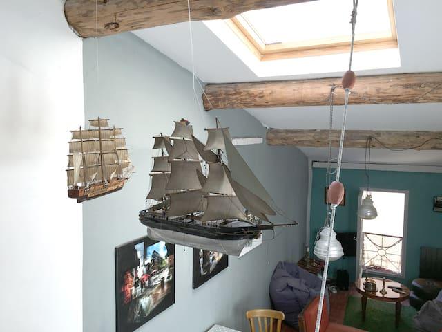 La Maison du Capitaine à la Ciotat - La Ciotat - House