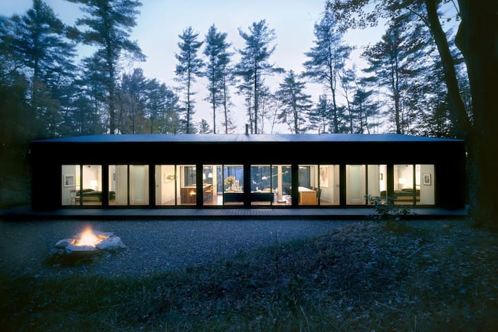 Glass Cabin in the Woods - 希爾斯代爾(Hillsdale) - 小木屋