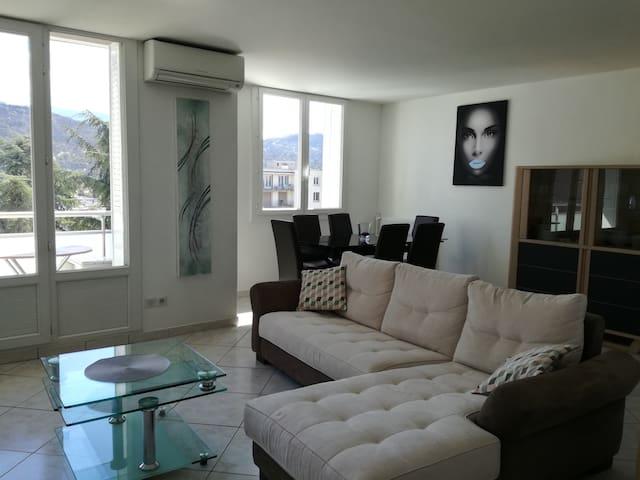 Logement 60m2 au calme idéalement situé - Saint-Martin-d'Hères - Apartment