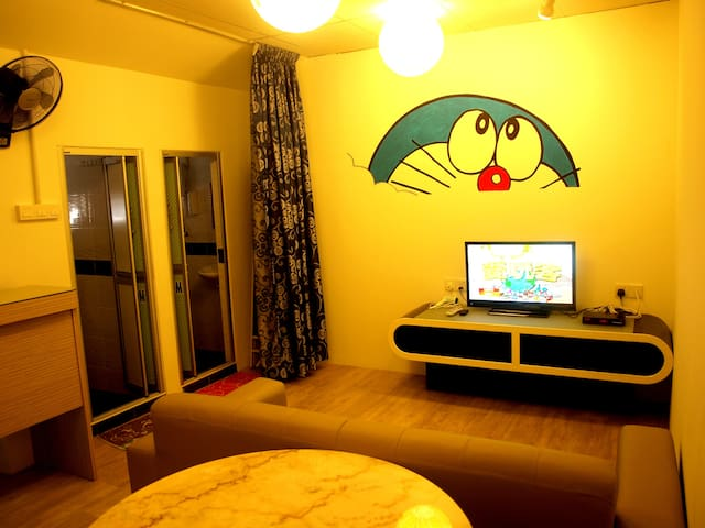 (Promotion) Doreamon Family Suite (Penang Island) - Air Itam - Konukevi