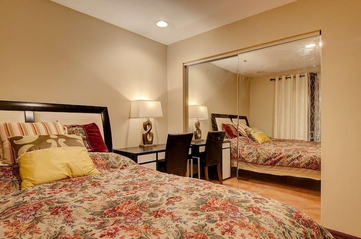两个房间加一个浴室独享,适合家庭! - La habra heights - Villa