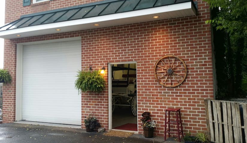 The Olde Towne Carriage House - Fredericksburg - Appartement